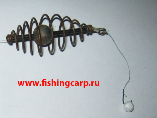 рыбная ловля на пружину